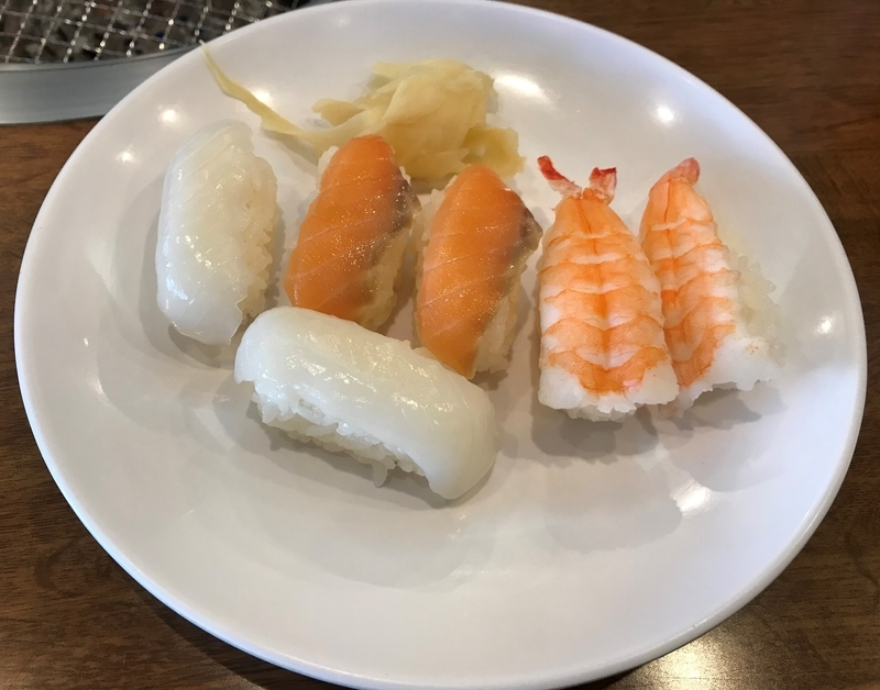 すたみな太郎の寿司