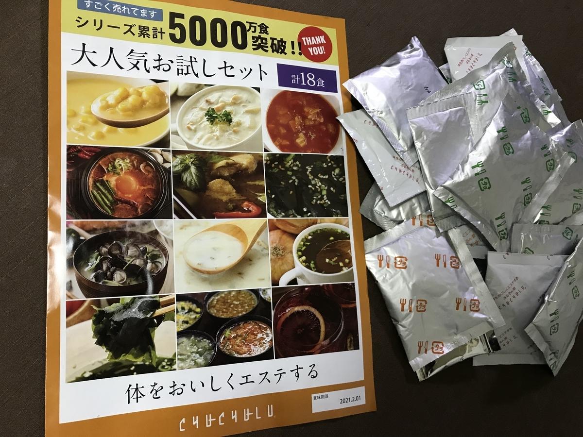 チュルルのダイエット食品