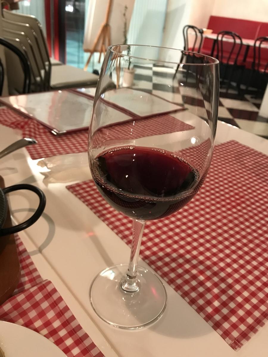 青森市、グラナダの赤グラスワイン