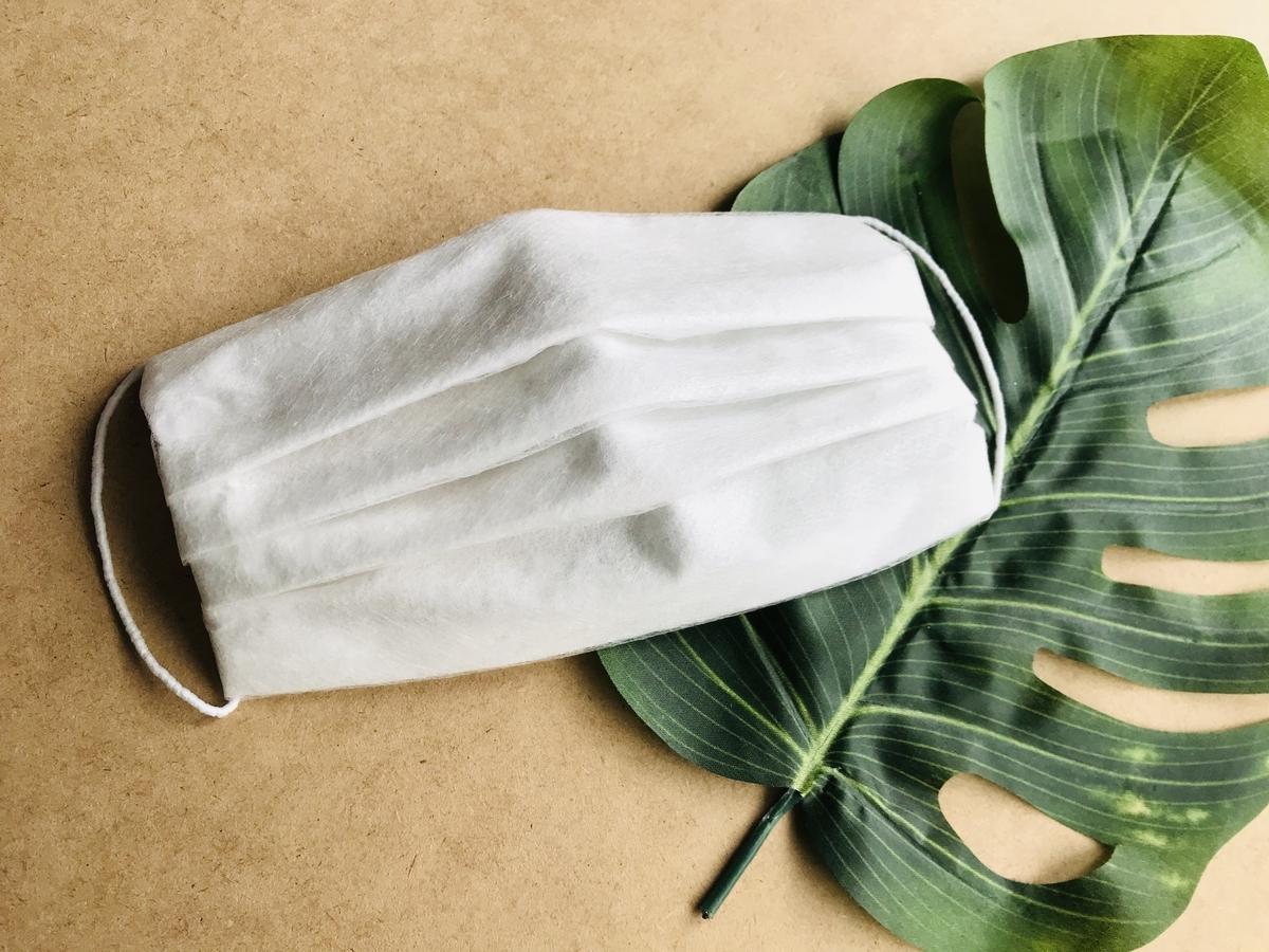 手づくり不織布(使い捨て)マスク