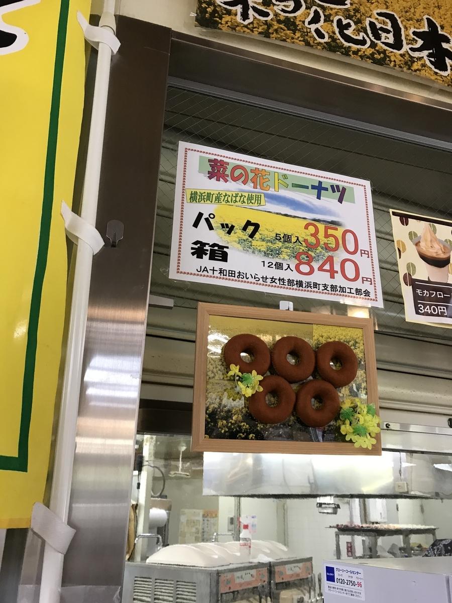 横浜町、菜の花ドーナツの価格