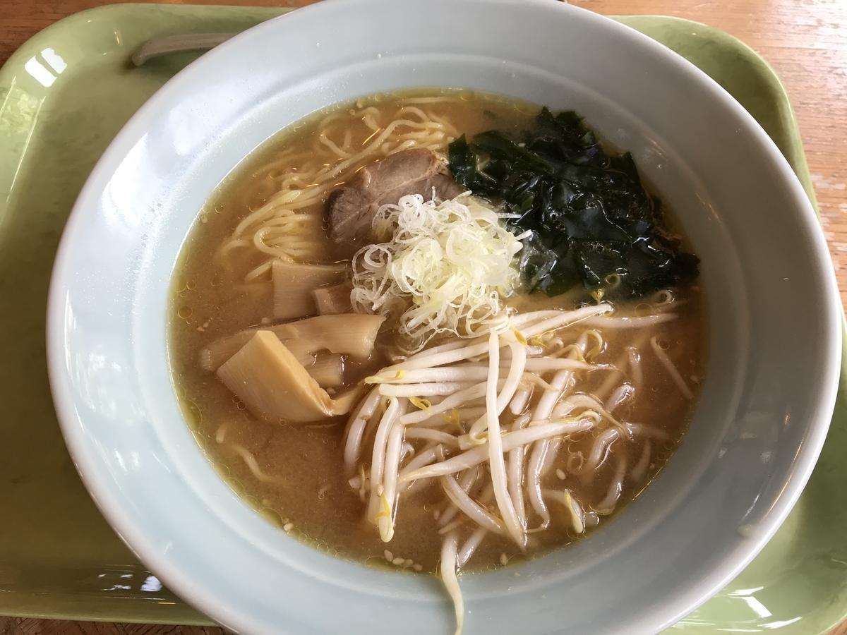 横浜町、鮮菜のみそラーメン