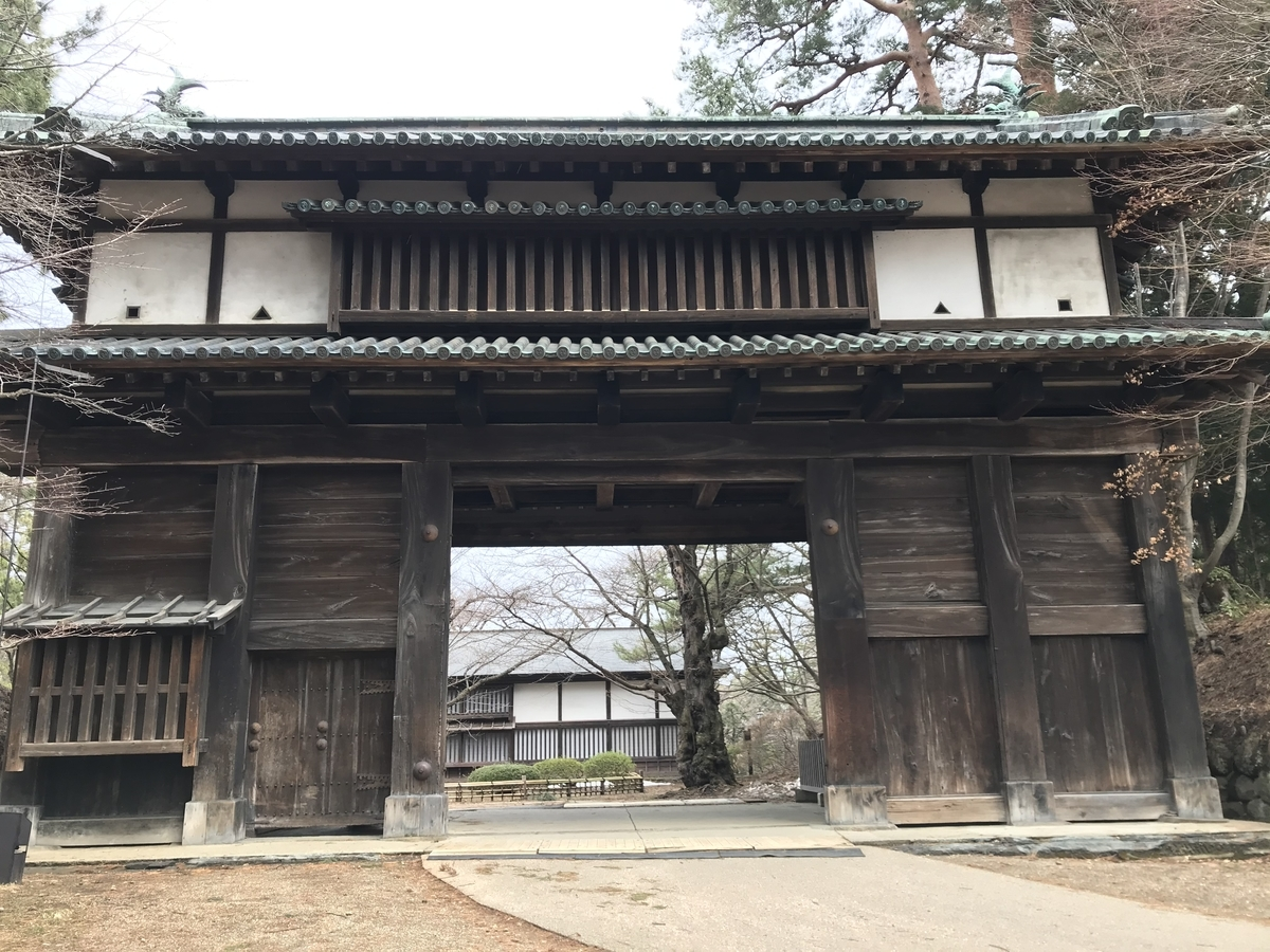 弘前城二の丸東門