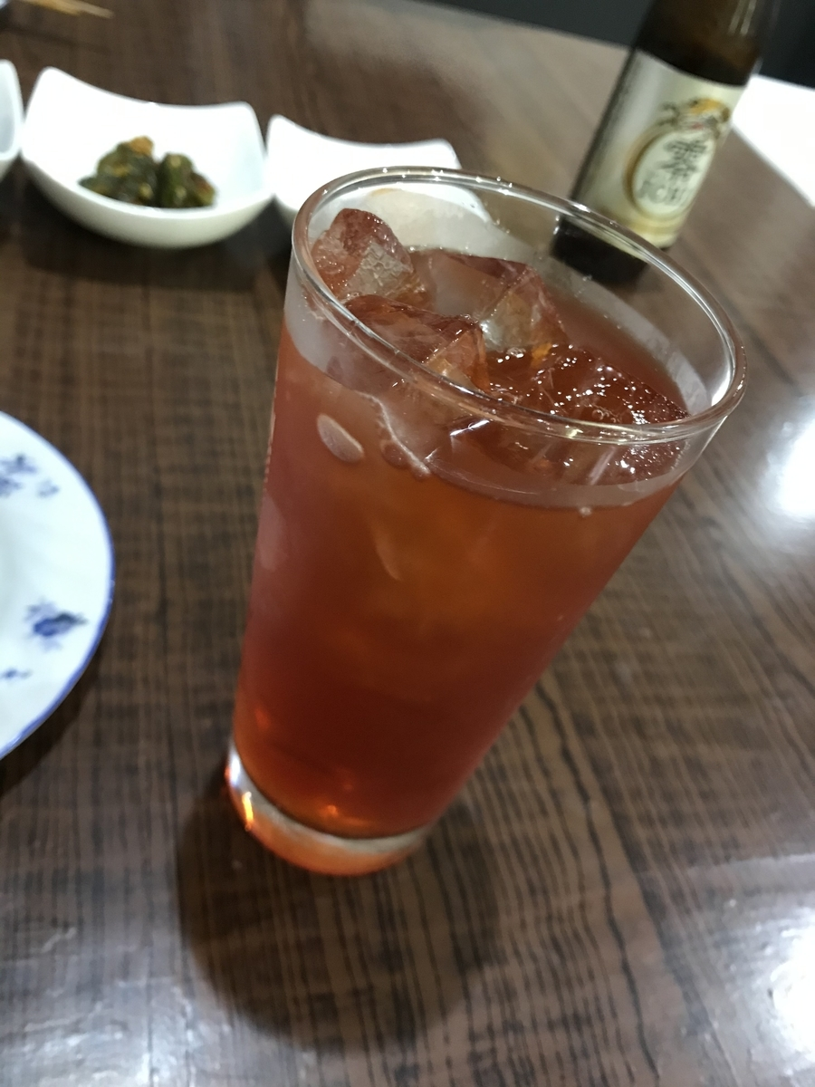 むつ市、韓国料理ハンのざくろ茶