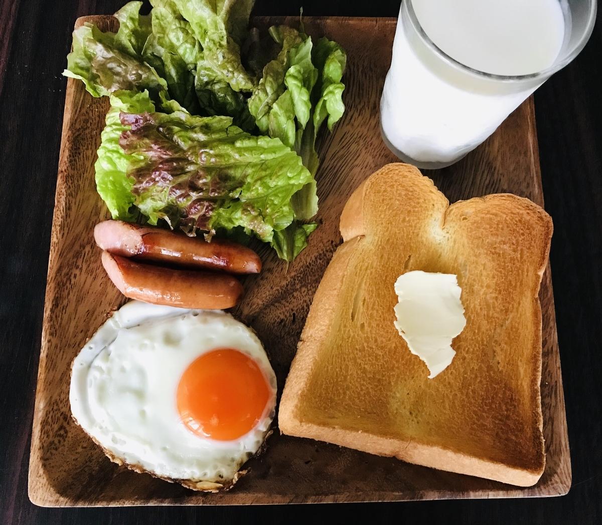 おうちごはん、朝食メニュー