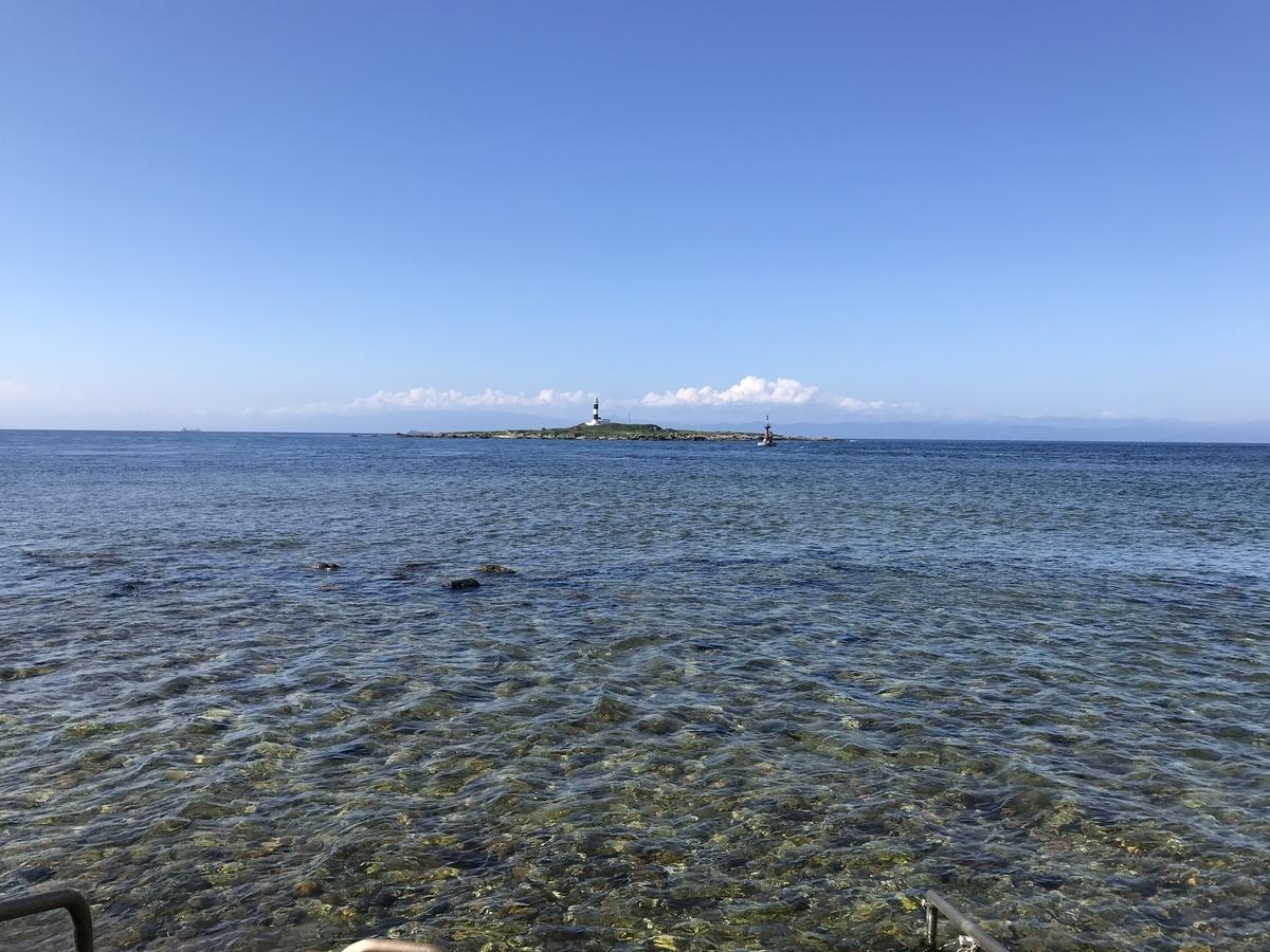 本州最北端の地、大間崎の海
