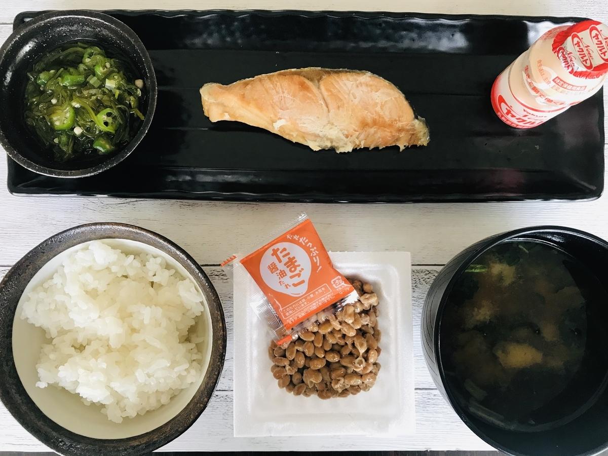 手作り、和の朝食