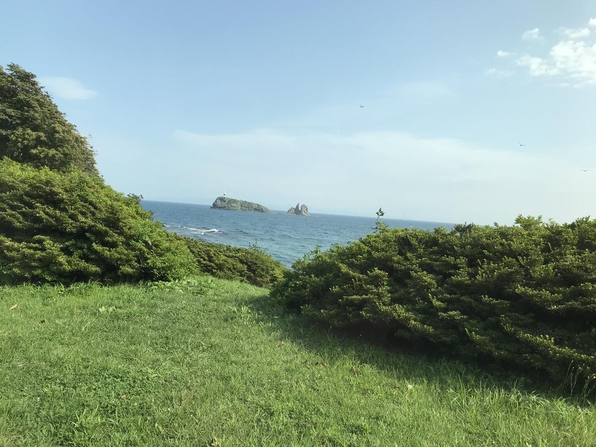 むつ市、脇野沢の鯛島