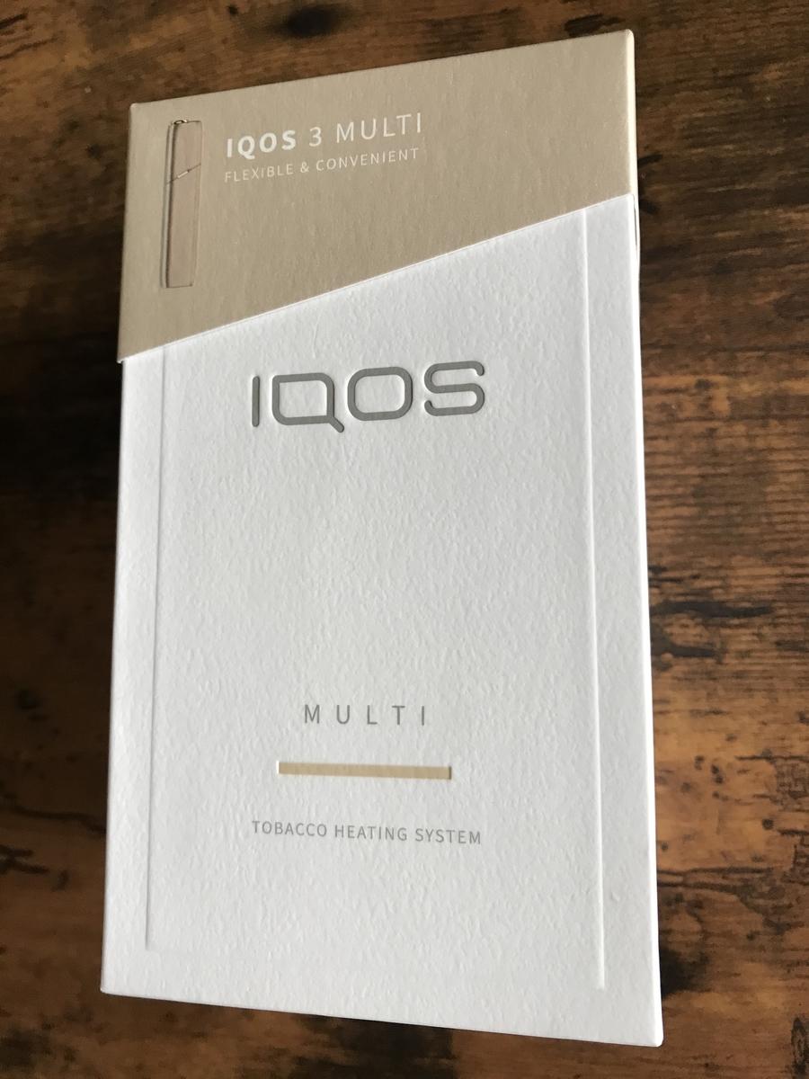 アイコス3マルチの外箱