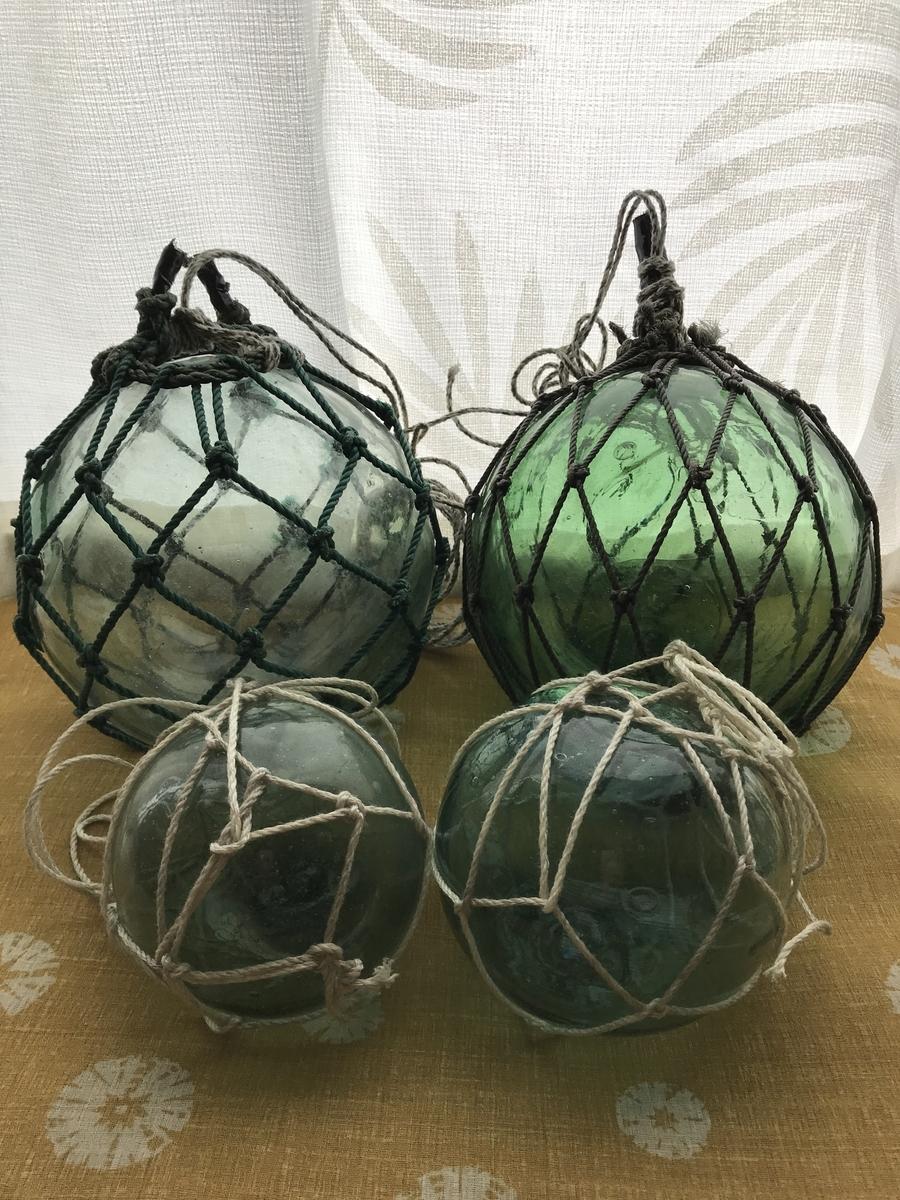インテリア、ガラス浮き玉