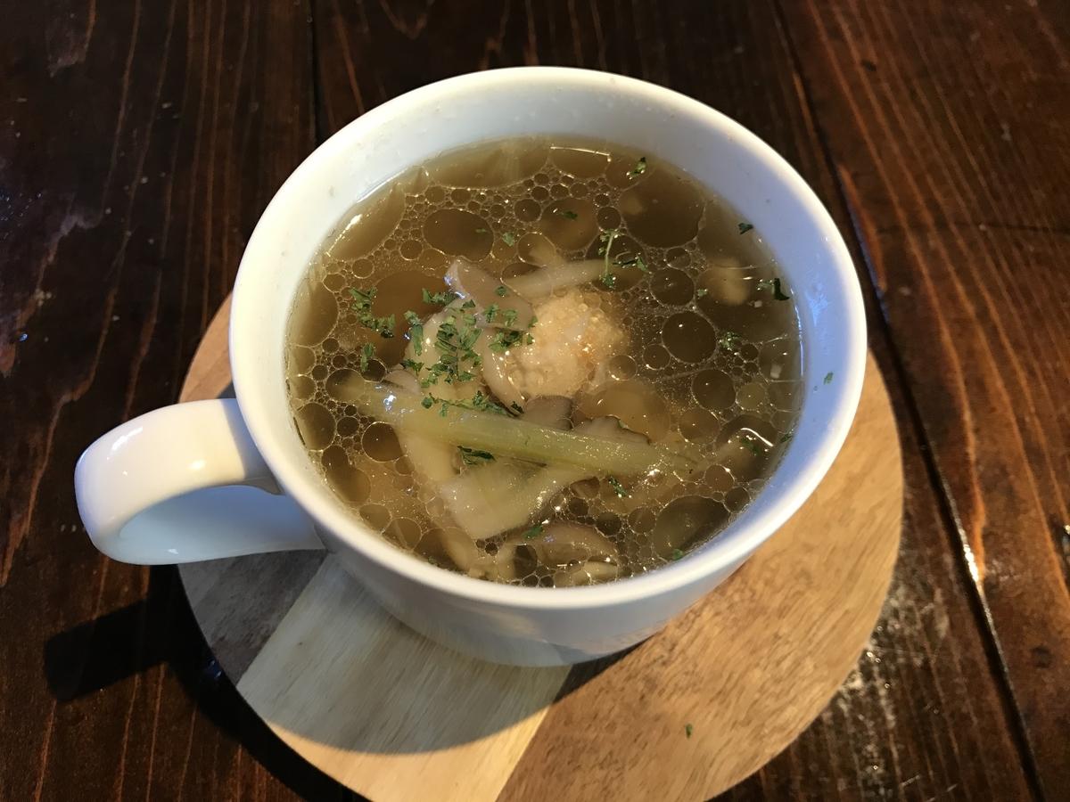 むつ市、弘前屋のスープ