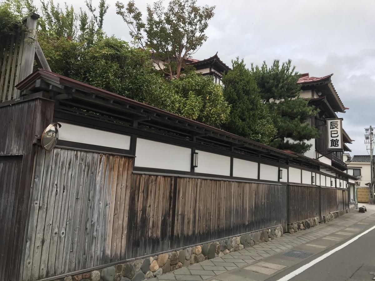 青森市、浅虫温泉の辰巳館(たつみかん)