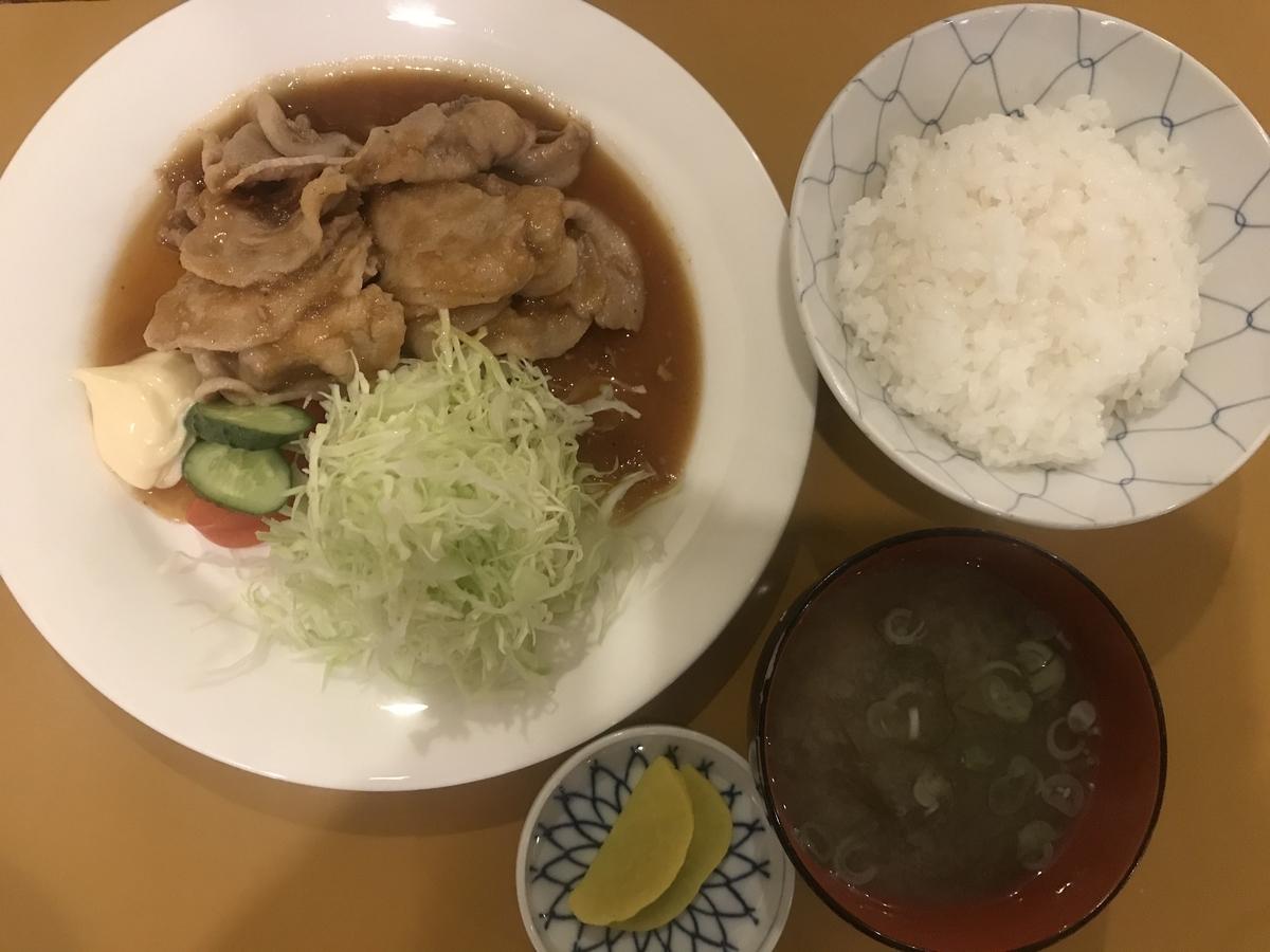 平内町、ぼんねっとの焼肉定食