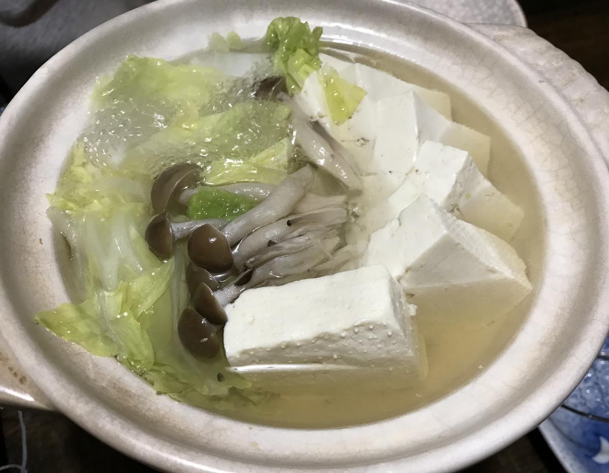 むつ市、居酒屋祭の湯豆腐