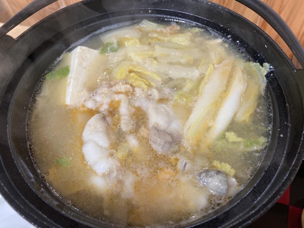 風間浦村のあんこう鍋