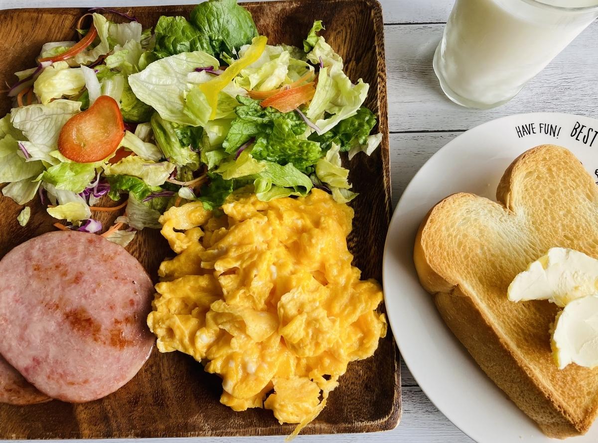 おうちごはん、朝食ワンプレート