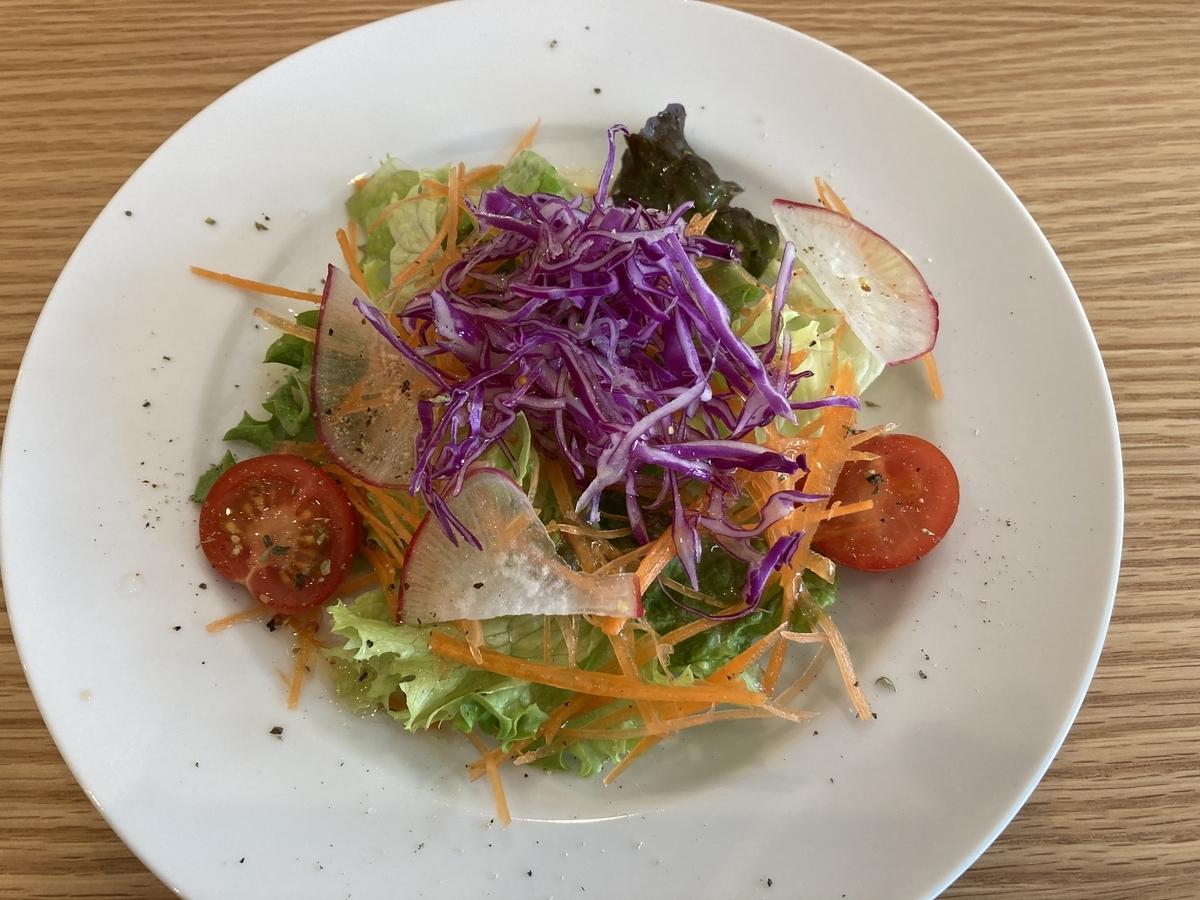 田名部洋菓子店の野菜サラダ