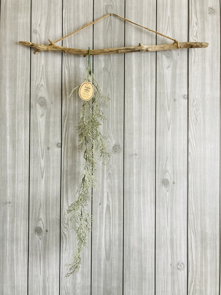 流木ハンキングとスパニッシュモス