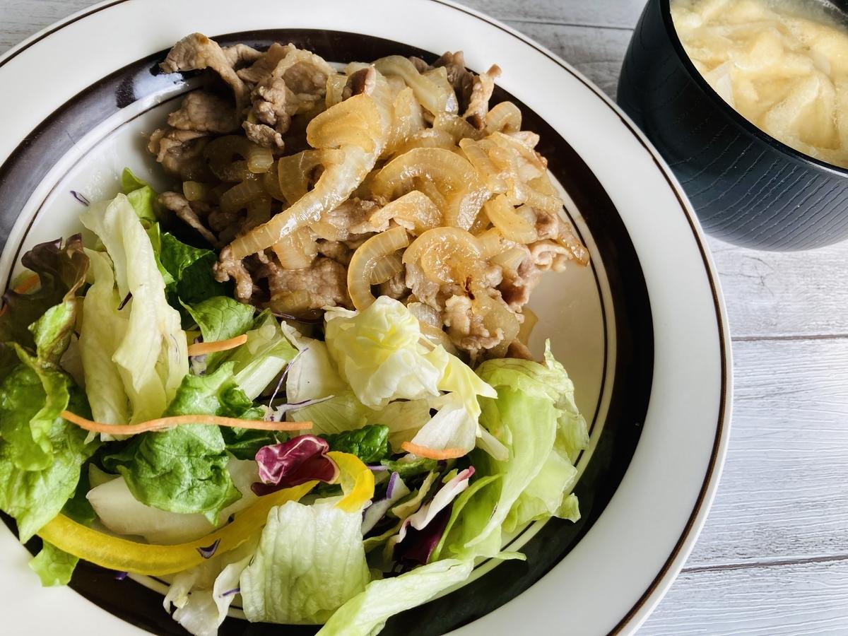 豚肉と玉ねぎのスタミナ源たれ炒め