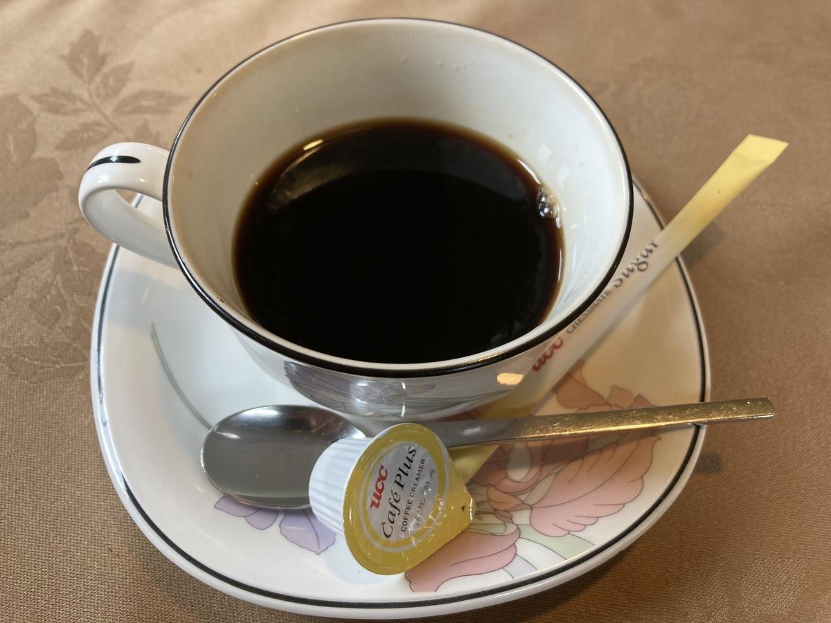 むつ市セントラルパークのホットコーヒー