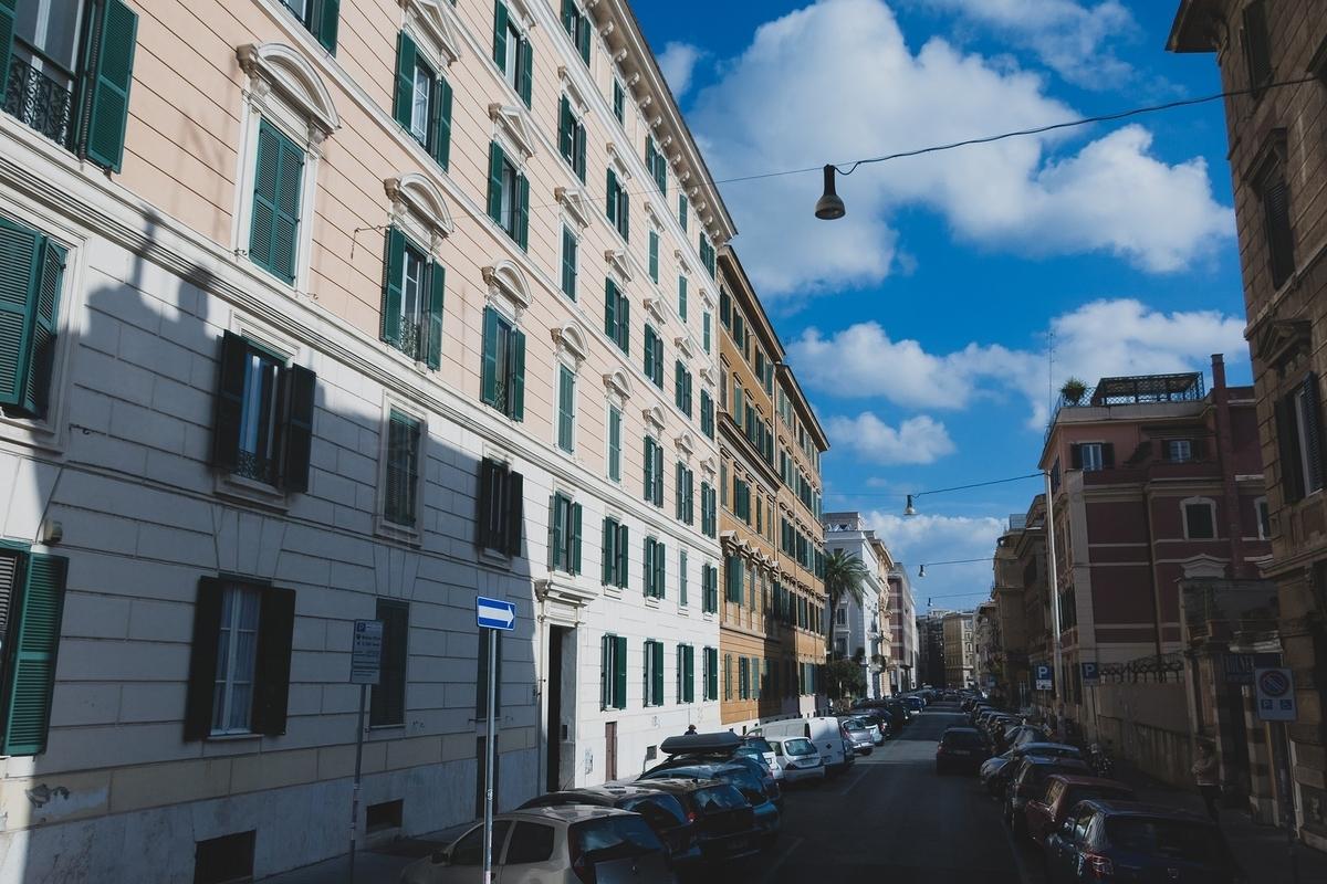イタリアのマンション