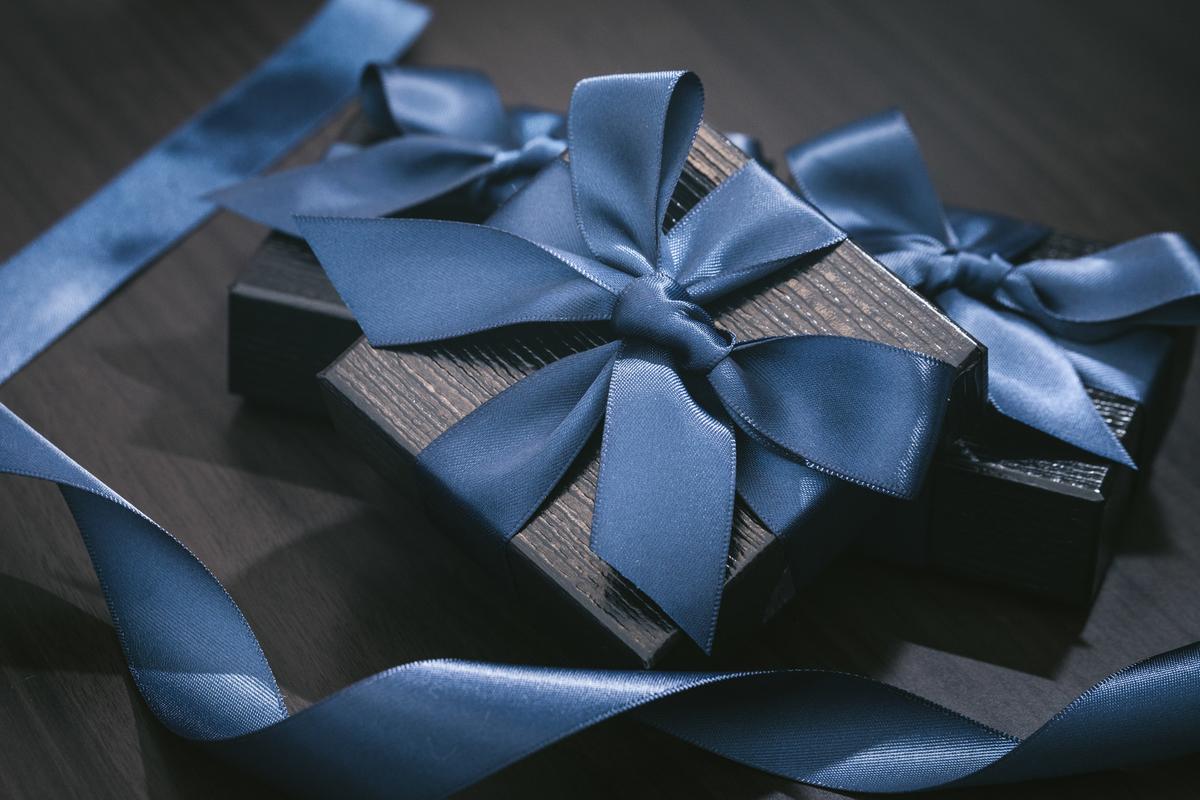 リボンがついたプレゼント