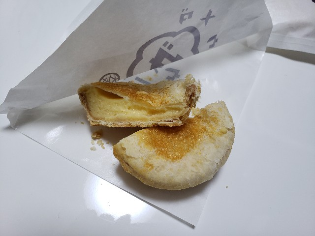 パイに包まれたチーズタルト