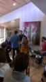 施設がお休みの日は地域に開放。今日はジャズコンサート!