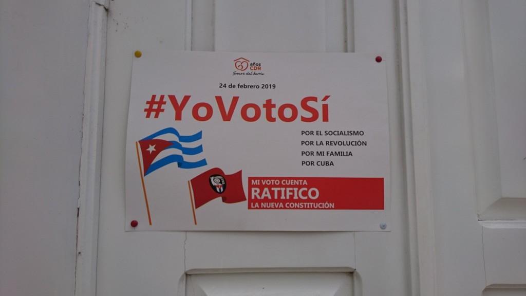 「私はYesと投票します!」