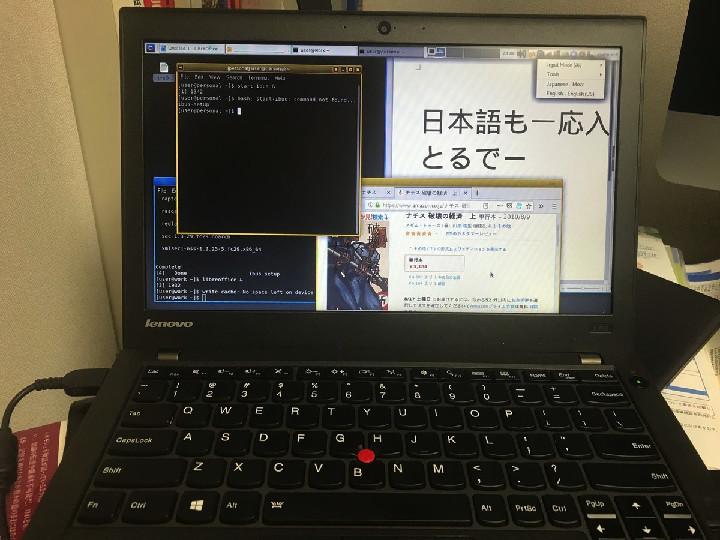 """Qubes4.0 on Lenovo X250"""
