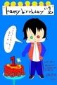 山田一郎誕生日イラスト2018