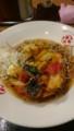 [夕食] 8/6 夏野菜のかき揚げそば@JR駅そば