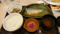 [夕食] 9/7 さばの味噌煮和膳@ガスト
