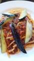 [昼食] 9/23 茄子のボロネーゼ@デニーズ