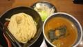 [夕食] 9/24 つけ麺とちょこっと野菜@三田製麺所