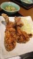 [夕食]から揚げ定食@川崎から揚げ定食専門店