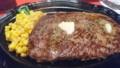 [夕食]12/9 キッドステーキ(200g)@ビリーザキッド