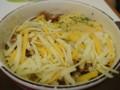 [夕食]2/4 チーズ牛丼ミニ@すき家