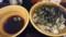 10/5 夜 肉そば@なぜ蕎麦にラー油を入れるのか。