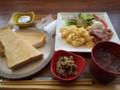 10/18 朝 スクランブルエッグの洋食朝ごはん@chawan