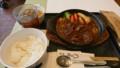 1/18 昼 牛タンシチュー定食@グリルおくう
