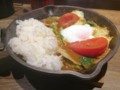 2017/03/09 夜 春キャベツとベーコンのカレー@野菜を食べるカレーキャン
