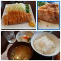 2017/7/3 昼 ロースカツ定食@とんQ