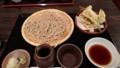 2017/08/20 夜 地魚の天ぷらもりそば@玄武