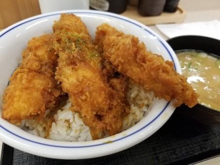 2017/11/21 夜 新潟鶏ささみタレカツ丼@かつや