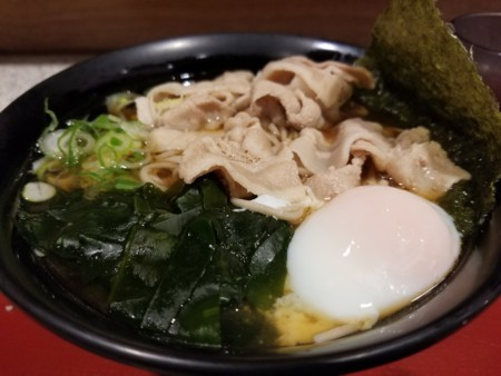 2017/11/24 夜 肉富士そば@富士そば