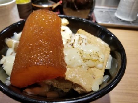 2018/01/12 夜 チーズ肉めし@岡むら屋
