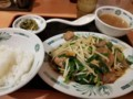2018/01/18 夜 レバニラ炒め定食@日高屋