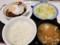 2018/03/15 夜 ブラウンソースエッグハンバーグ定食@松屋