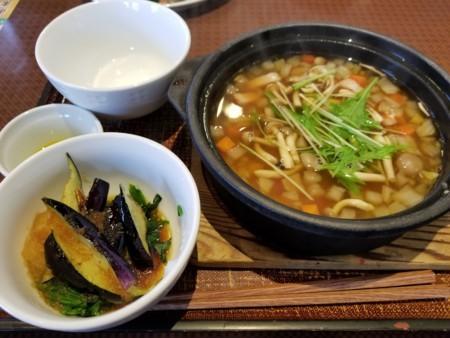 2018/03/21 昼 和風スープごはん